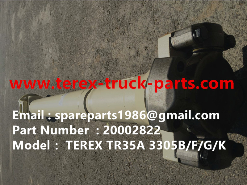 TEREX SANY RIGID DUMP TRUCK TR35A 3305F/G/K 3307 REAR DRIVE SHAFT 20002822