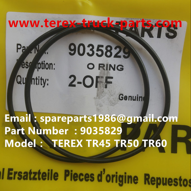 TEREX NHL TR50 TR60 RIGID DUMP TRUCK 09035829 O RING