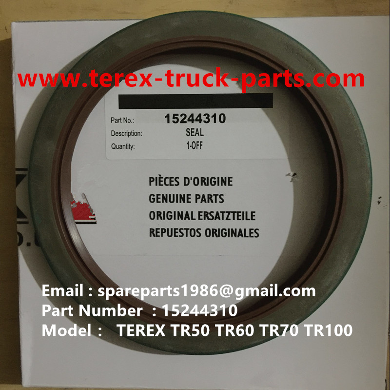 TEREX NHL TR60 RIGID DUMP TRUCK 15244310 SEAL
