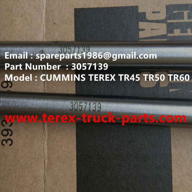 TEREX NHL CUMMINS TR60 RIGID DUMP TRUCK 3057139 PUSH ROD