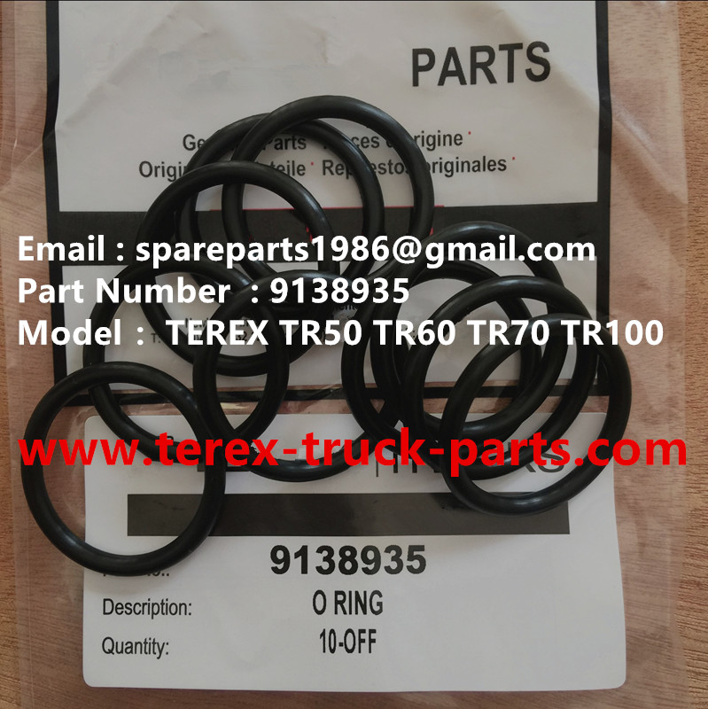 TEREX NHL RIGID DUMP TRUCK TR50 TR60 09138935 O RING