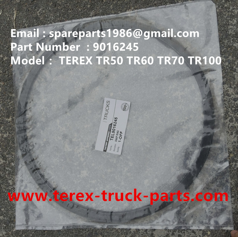TEREX NHL TR100 RIGID DUMP TRUCK 09016245 SNAP RING