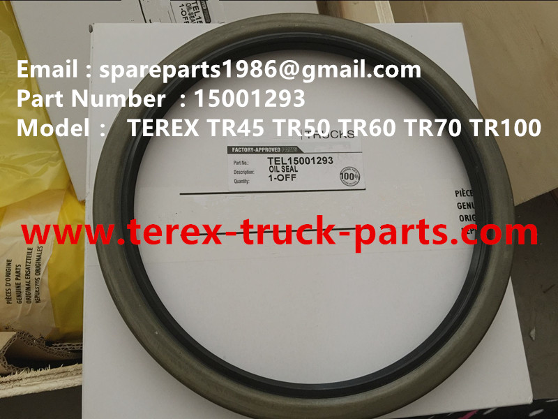 TEREX NHL TR60 RIGID DUMP TRUCK 15001293 OIL SEAL