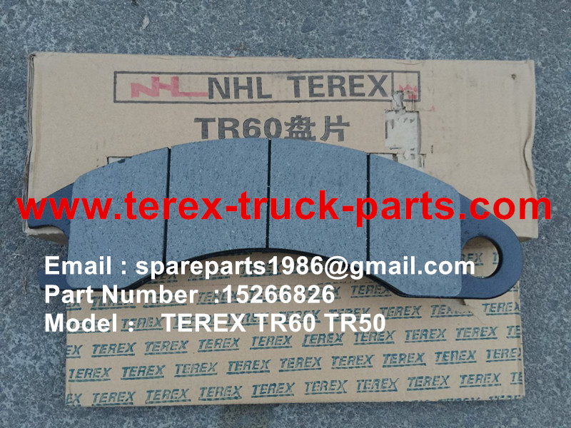 TEREX TR50 TR60 RIGID DUMP TRUCK ALLISON TRANSMISSION 15266826 LINING KIT