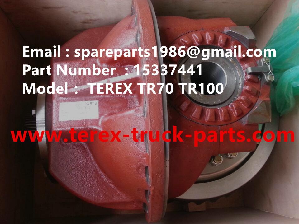 terex tr100 mining truck parts catalog