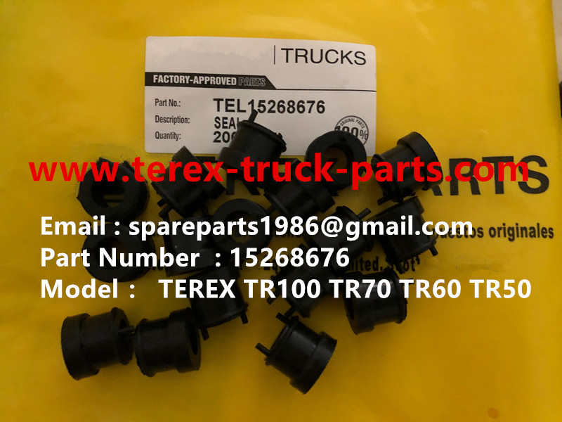 TEREX RIGID DUMP TEREX RIGID DUMP TRUCK HAULER OFF HIGHWAY TRUCK HAULER ALLISON TRANSMISSION TR60 TR70 TR100 SEAL 15268676