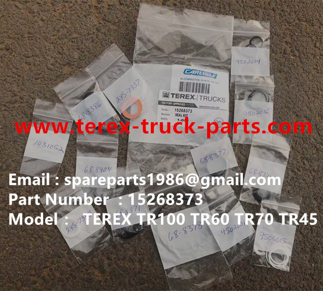 TEREX RIGID DUMP TRUCK HAULER OFF HIGHWAY TRUCK HAULER ALLISON TRANSMISSION TR60 TR50 TR45 TR70 TR100 15268373 SEAL KIT