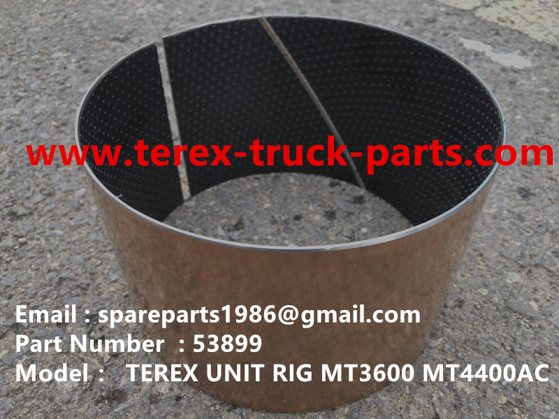 TEREX RIGID DUMP TRUCK HAULER OFF HIGHWAY TRUCK HAULER ALLISON TRANSMISSION GE WHEEL MOTOR MT3600 MT3700 MT4400AC BEARING 53899