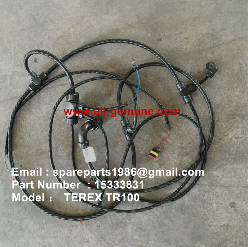 TEREX NHL TR100 SRT95 DUMP TRUCK ENGINE HARNESS