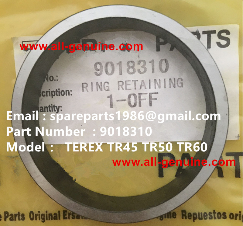 TEREX NHL DUMPER TR50 RING RETAINER  09018310