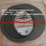 TEREX SANY ALLISON TR35A 3305F 3305G 3305K 29537887 FRICTION PLATE