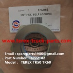 TEREX NHL ALLISON TRANSMISSION TR60 TR50 RIGID DUMP TRUCK 6772182 SELF LOCKING NUT
