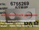 TEREX NHL TR60 TR50 RIGID DUMP TRUCK 6755269 STRIP