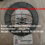 TEREX NHL TR100 ALLISON RIGID DUMP TRUCK 29528700 THRUST WASHER