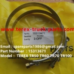 TEREX NHL TR50 TR60 RIGID DUMP TRUCK 15313671 CLAMP