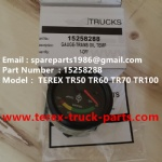 TEREX NHL TR50 TR60 RIGID DUMP TRUCK 15258288 GAUGE TRANS OIL TEMP