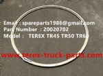 TEREX NHL TR50 TR60 RIGID DUMP TRUCK 20020702 LOCK RING