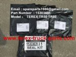 TEREX TR60 TR50 TR45 RIGID DUMP TRUCK 15303631 SEAL KIT