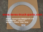 TEREX NHL TR60 RIGID DUMP TRUCK 15302797 PLATE-SPLINED