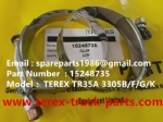 TEREX NHL TR60 RIGID DUMP TRUCK 15248735 CLAMP