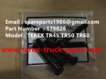 TEREX NHL TR60 RIGID DUMP TRUCK 179826 BOLT