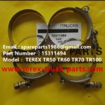 TEREX NHL TR60 RIGID DUMP TRUCK 15311494 CLAMP