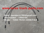 TEREX NHL TR35 3305B 3305F 3305G 3305K RIGID DUMP TRUCK 15045164 THROTTLE CABLE