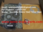 TEREX NHL TR50 TR60 RIGID DUMP TRUCK TRANSMISSION OVERHAUL KIT 29515701