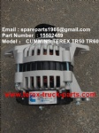 TEREX NHL TR60 RIGID DUMP TRUCK CUMMINS ENGINE 15502489 ALTERNATOR