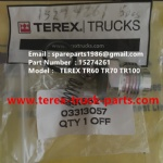 TEREX NHL RIGID DUMP TRUCK TR50 TR60 15274261 SEAL KIT CHECK VALVE