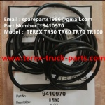 TEREX NHL RIGID DUMP TRUCK TR50 TR60 09410970 O RING