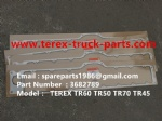 TEREX NHL TR50 TR60 RIGID DUMP TRUCK CUMMINS ENGINE 3682789 GASKET