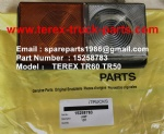 TEREX NHL TR60 RIGID DUMP TRUCK 15258783 LAMP-SIDE INDICATOR