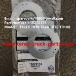 TEREX NHL MINING OFF HIGHWAY RIGID DUMP TRUCK TR50 TR60 SEAL 9272943TEREX NHL MINING OFF HIGHWAY RIGID DUMP TRUCK TR100 TR60 TR50 WEAR PLATE 15272174