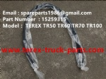 TEREX NHL MINING OFF HIGHWAY RIGID DUMP TRUCK TR50 TR60 HOSE 15259315