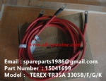 TEREX 3305F Starter positive cable 15041699