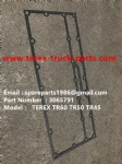 TEREX NHL MINING OFF HIGHWAY RIGID DUMP TRUCK TR50 TR60 CUMMINS ENGINE 3065791 GASKET COOLER
