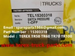 TEREX NHL MINING OFF HIGHWAY RIGID DUMP TRUCK TR50 TR60 SWITCH PRESSURE 15303318