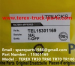 TEREX NHL MINING OFF HIGHWAY RIGID DUMP TRUCK TR50 TR60  SEAL 15301169