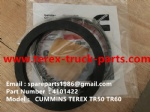 TEREX NHL MINING OFF HIGHWAY RIGID DUMP TRUCK TR50 TR60  CUMMINS ENGINE 4101422 OIL SEAL