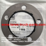 TEREX NHL MINING OFF HIGHWAY RIGID DUMP TRUCK CUMMINS ENGINE 3305B 3305F 3305G 3305K TR35 4319273 DUST SEAL