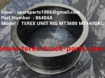 TEREX UNIT RIG MT4400AC WHEEL MOTOR DUMP TRUCK 86404A  SLEEVE BEARING