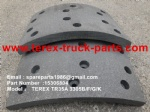 TEREX OFF HIGHWAY MINING RIGID DUMP TRUCK HAULER NHL TR35A 3305F 3305B 3305G 3305K 15306804 NSS REAR BRAKE