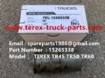 TEREX OFF HIGHWAY MINING RIGID DUMP TRUCK HAULER NHL TR45 TR50 TR60 PIN 15265338