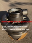 TEREX OFF HIGHWAY MINING RIGID DUMP TRUCK HAULER NHL CUMMINS ENGINE TR45 TR50 TR60 4040239 TURBOCHARGER ASSY