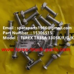 TEREX OFF HIGHWAY MINING RIGID DUMP TRUCK HAULER NHL  TR35A 3305B 3305F 3305G 3305K 15306515 SCREW