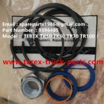 TEREX RIGID DUMP TRUCK HAULER OFF HIGHWAY TRUCK HAULER TR60 TR70 TR100 09396485 STEERING CYLINDER REPAIR KIT WITHOUT BEARING