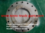 TEREX RIGID DUMP TRUCK HAULER OFF HIGHWAY TRUCK HAULER ALLISON TRANSMISSION TR60 TR70 TR100 09384099 END CAP