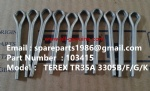TEREX 3305F COTTER PIN 00103415