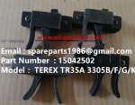 TEREX 3305F Left latch 15042502